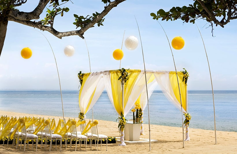 front beach wedding venue image 2