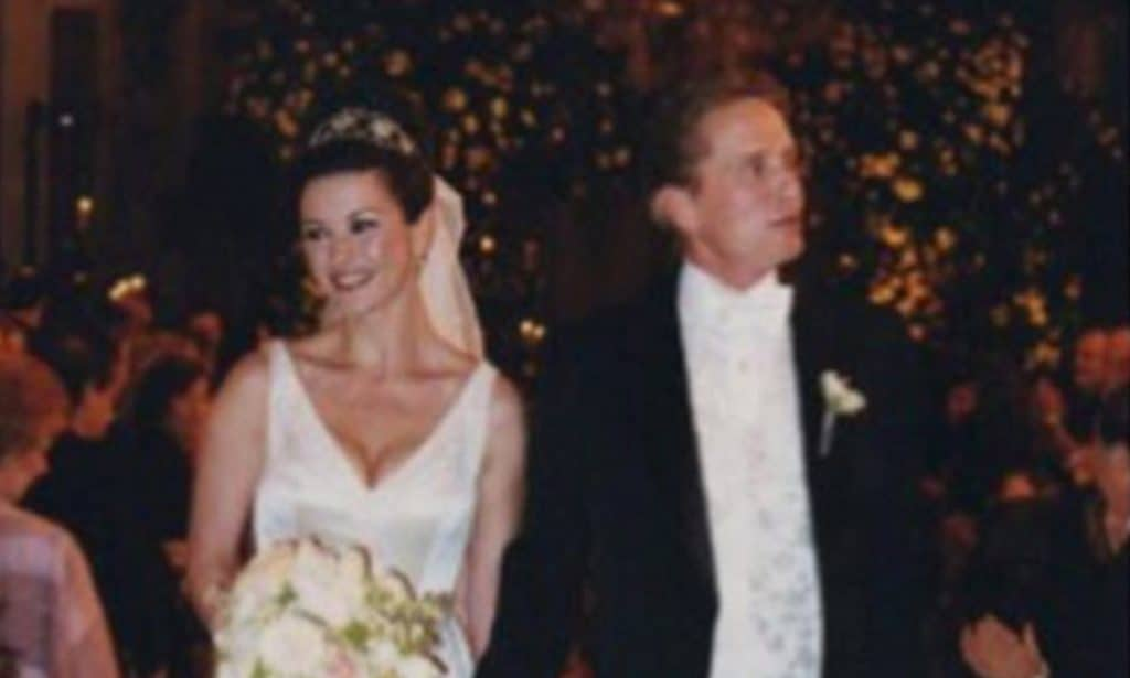 Catherine Zeta-Jones AND Michael Douglas Wedding