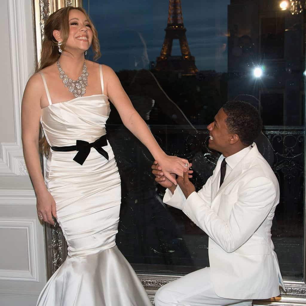 Celebrity wedding of Mariah Carey and Nick Cannon